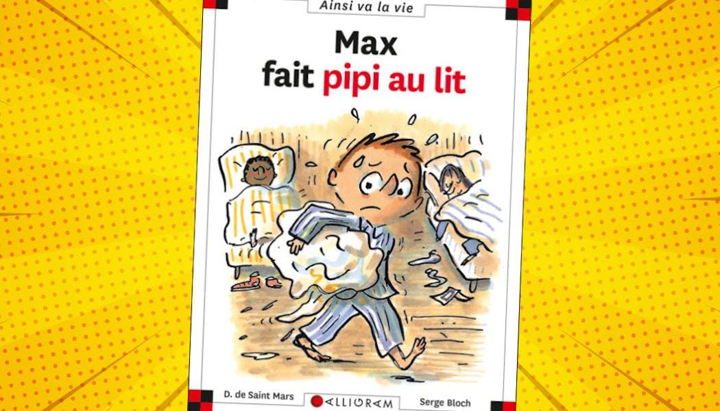 couverture du livre Max fait pipi au lit