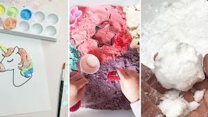 Top 10 des recettes de bricolage à connaître : pâte à sel, craies...