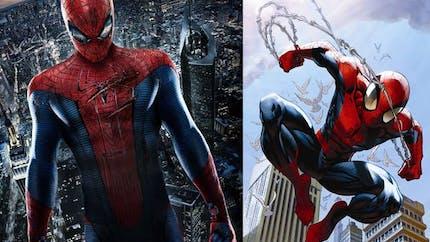 Les super héros de Marvel et DC Comics