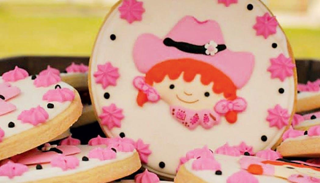 Un gâteau pour petite cow-girl