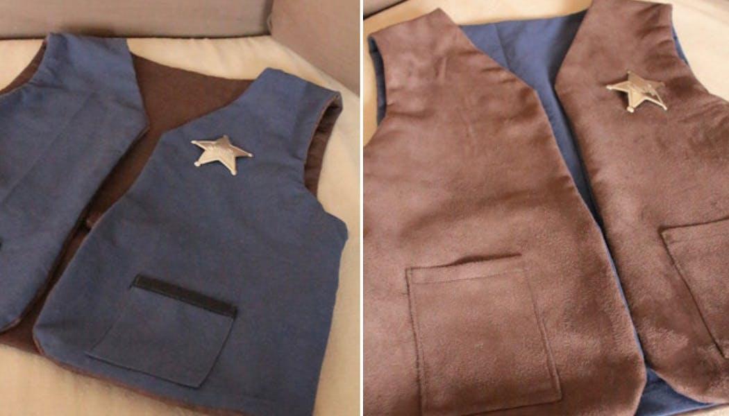 La veste de shérif réversible