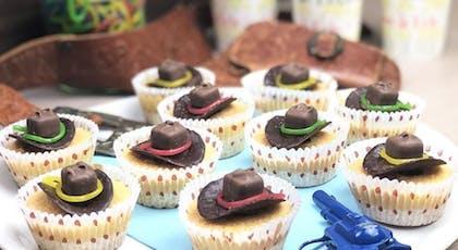 Cupcakes chapeaux de cow-boy