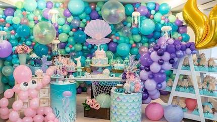 Top 20 des idées pour faire un anniversaire sirène