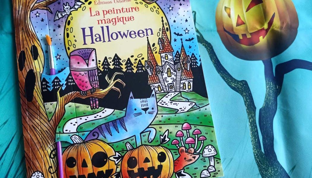 couverture La peinture magique Halloween