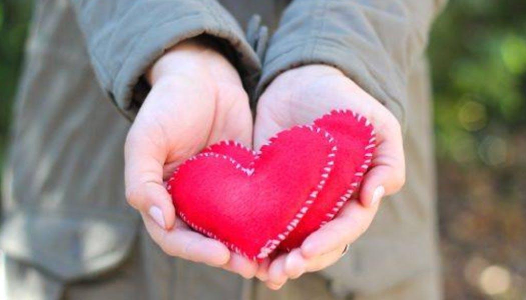cœur plein de senteur