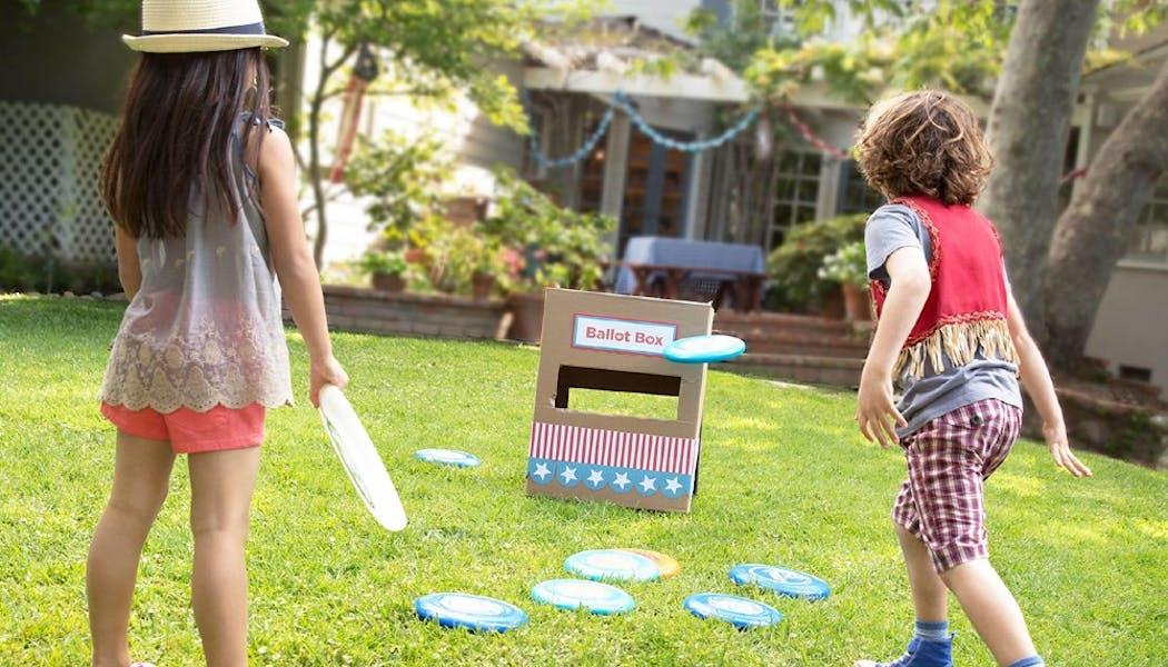 Le lancer de frisbee