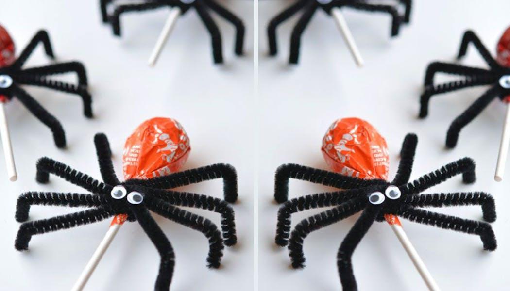 araignées sucettes