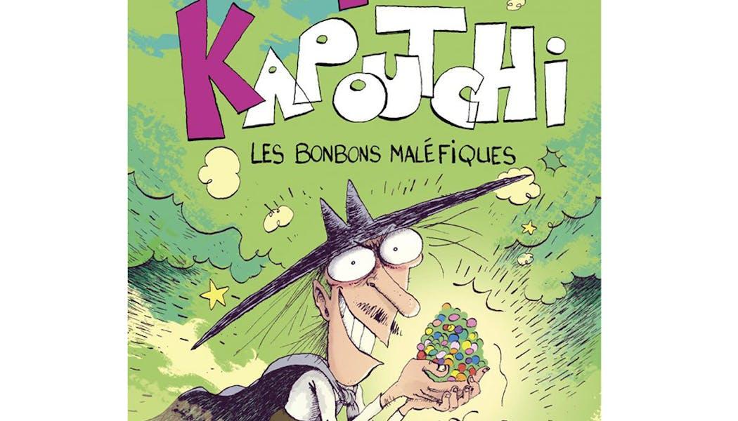 couverture El Kapoutchi 1 : Les bonbons maléfiques