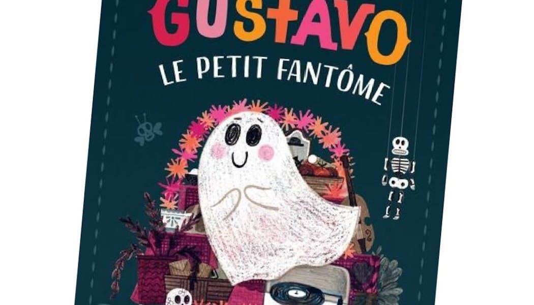 couverture Gustavo le petit fantôme