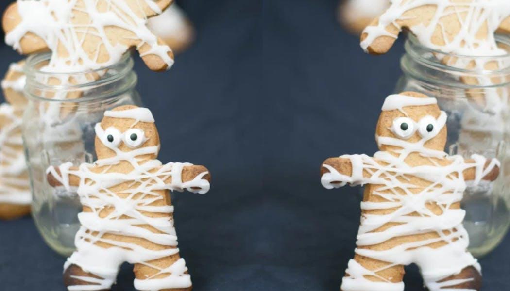 Biscuits momies à la cannelle