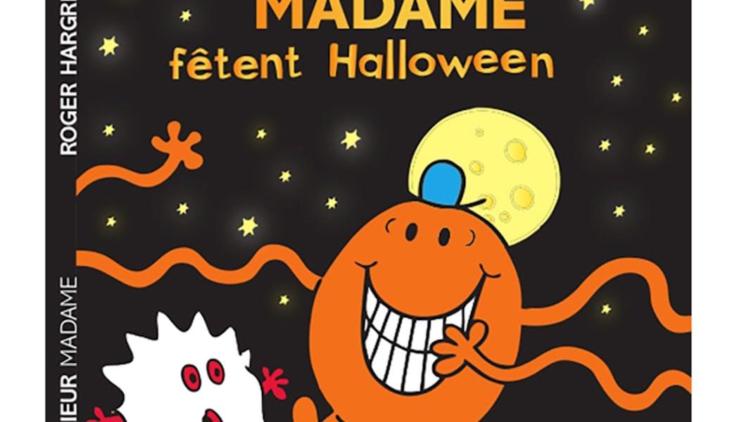 couverture Les Monsieur Madame fêtent Halloween