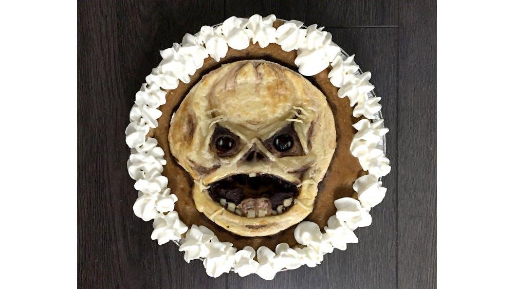 Tarte d'Halloween Trick r treat