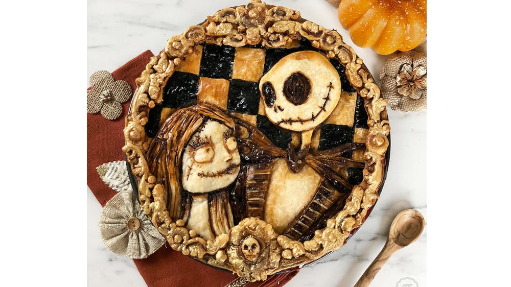 Tarte d'Halloween L'Étrange Noël de Mr Jack