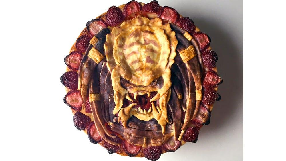 Tarte d'Halloween Predator