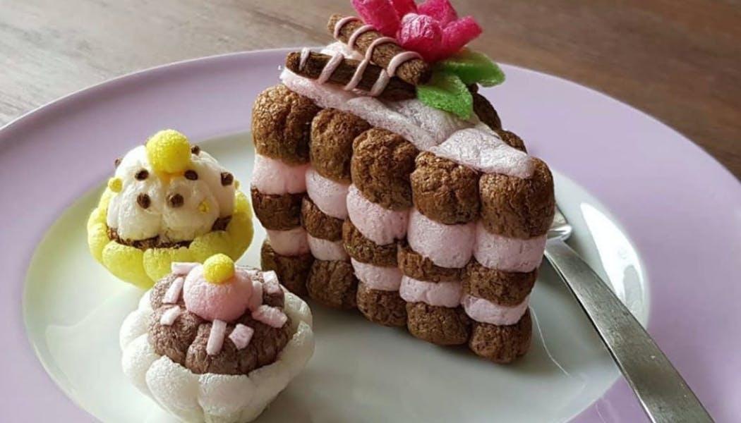 les gâteaux en Playmaïs