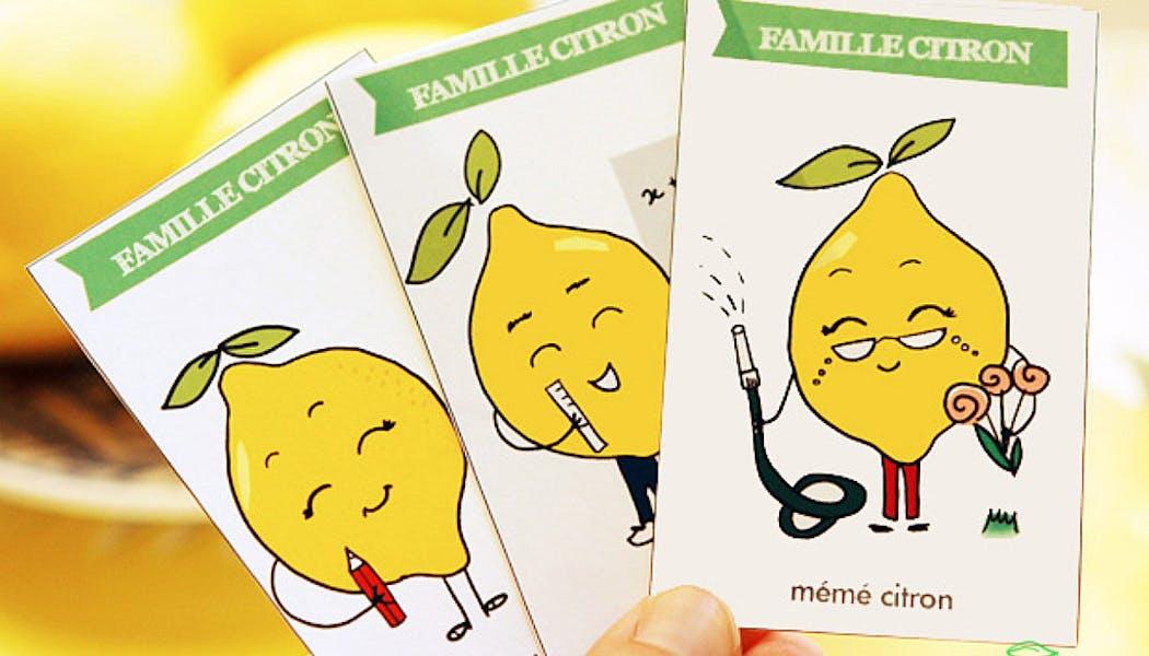 Un jeu des 7 familles vitaminé