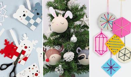 Top 25 des plus belles boules et suspensions de Noël à faire à la maison