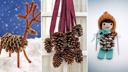 Top 23 des idées déco hivernales à faire avec des pommes de pin
