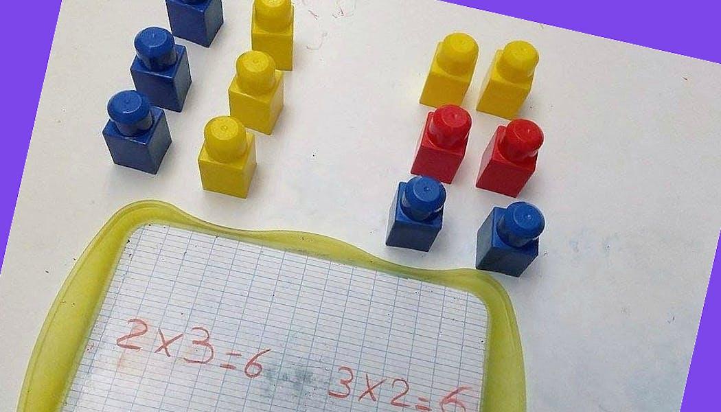 blocs pour apprendre les tables