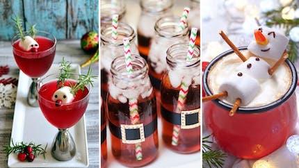 Top 16 des boissons et cocktails sans alcool pour les enfants à Noël