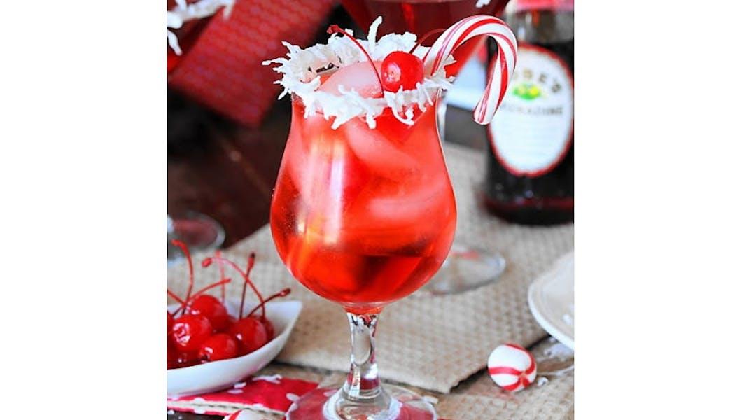 Cocktail Shirley Temple de Noël