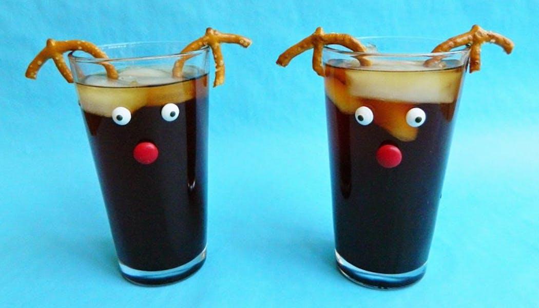 Le soda des Rennes du Père Noël