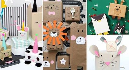 Papiers cadeaux animaux