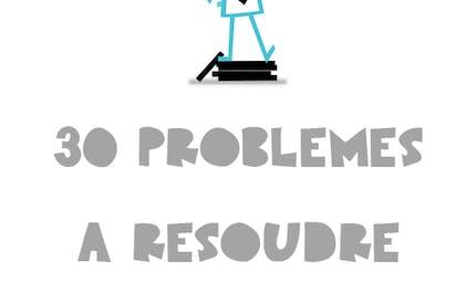 30 Problèmes divers : exercices