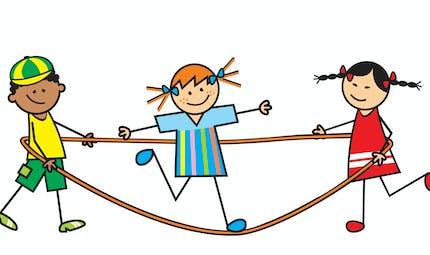 5 idées de jeux avec une corde à sauter