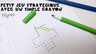 idées de jeux avec un crayon