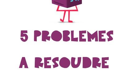 5 probleme à résoudre - Niveau CE1