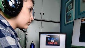 À 9 ans, il crée un jeu virtuel pour détruire le coronavirus