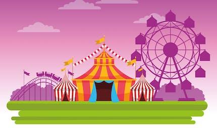 A la découverte des cirques du monde