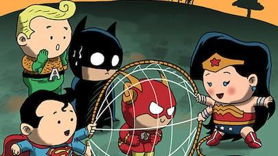 super-héros enfants dessins dragonarte
