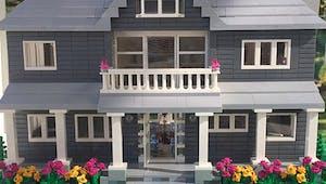 Acheter une réplique en Lego de sa maison, c'est possible !