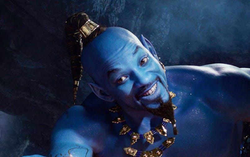 Aladdin nouveau teaser will smith en génie