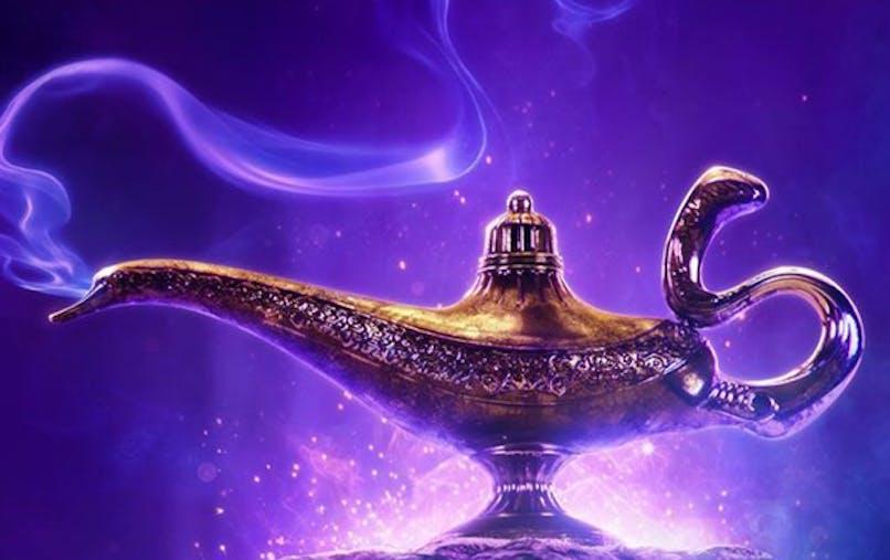 Disney cinéma aladdin film affiche premier teaser