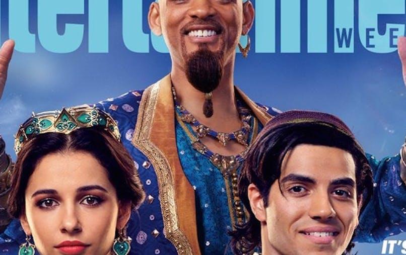 aladdin le film premières images génie aladdin jasmine       jafar abu will smith disney