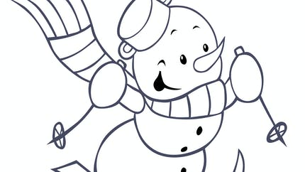 Alfred le bonhomme de neige