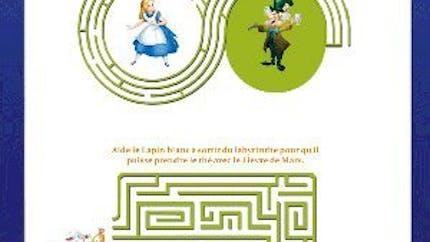 Alice aux pays des merveilles : boîte pour le Memory