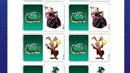 Alice aux pays des merveilles : jeu de Memory 2