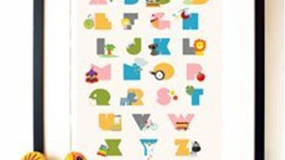 Alphabet à imprimer