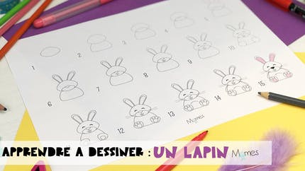 Apprendre à dessiner : un Lapin