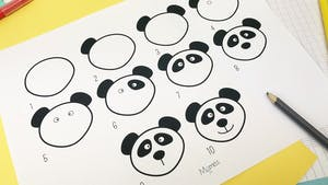 Apprendre à dessiner : un Panda