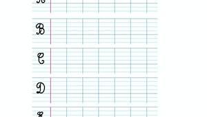 Apprendre à écrire les cursives majuscules A,B,C,D,E