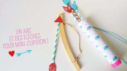 Arc et flèches de Cupidon