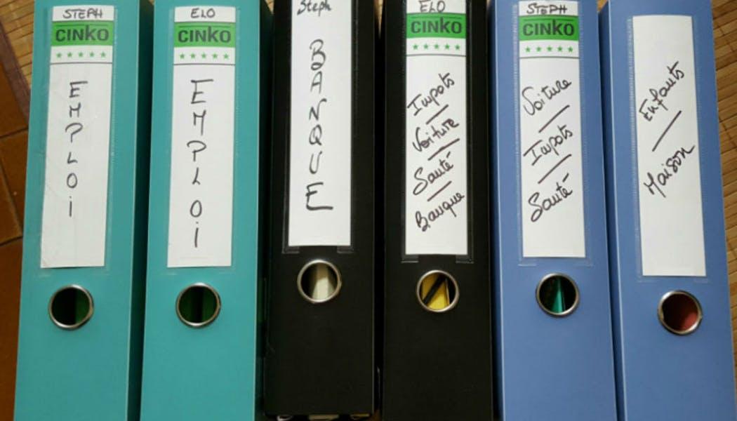 Archiver les papiers administratifs importants