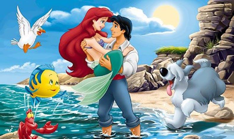 Ariel et le Prince Eric (La petite sirène)