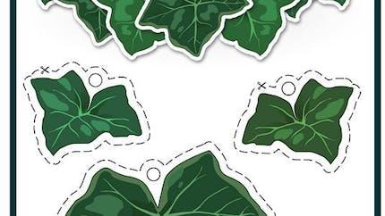 Arrietty : collier de feuilles