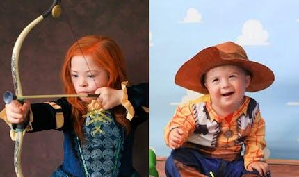Atteints de trisomie 21, ces enfants posent en personnages Disney